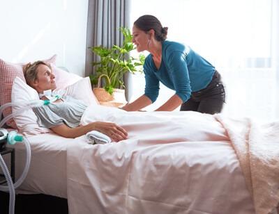 ResMed Healthcare Service Beatmungstherapie für Patienten zu Hause